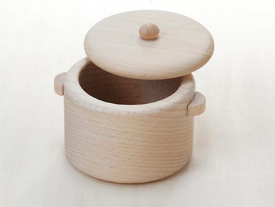 鍋〈小〉 木のおもちゃ(ままごと)