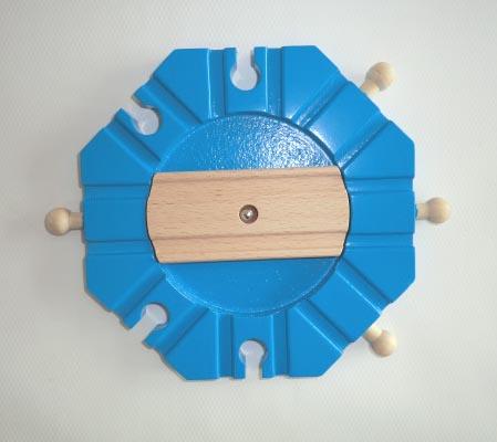 ロータリー 木のおもちゃ(木製汽車レール)