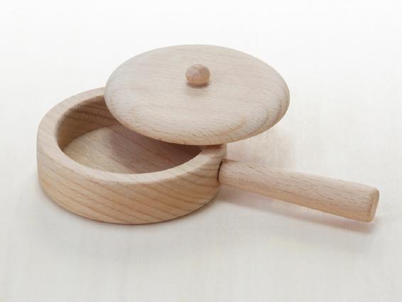 ミニ調理セット 木のおもちゃ(ままごと)
