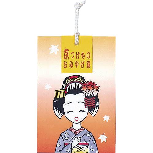 京つけものおみやげ袋(秋) M-10(6袋入)