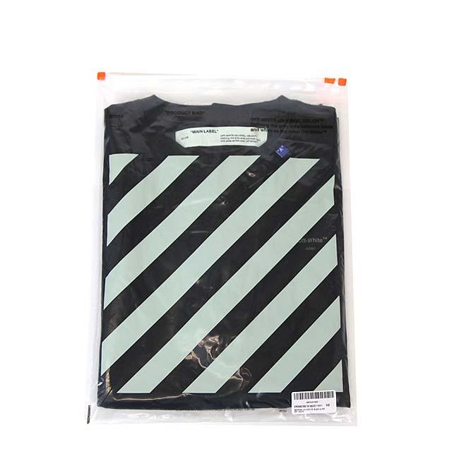 OFF-WHITE Tシャツ オフホワイト メンズ 半袖Tシャツ BACKBONE S/S OVER TEE(BLACK / SILVER) 【OMAA038E191850011091】