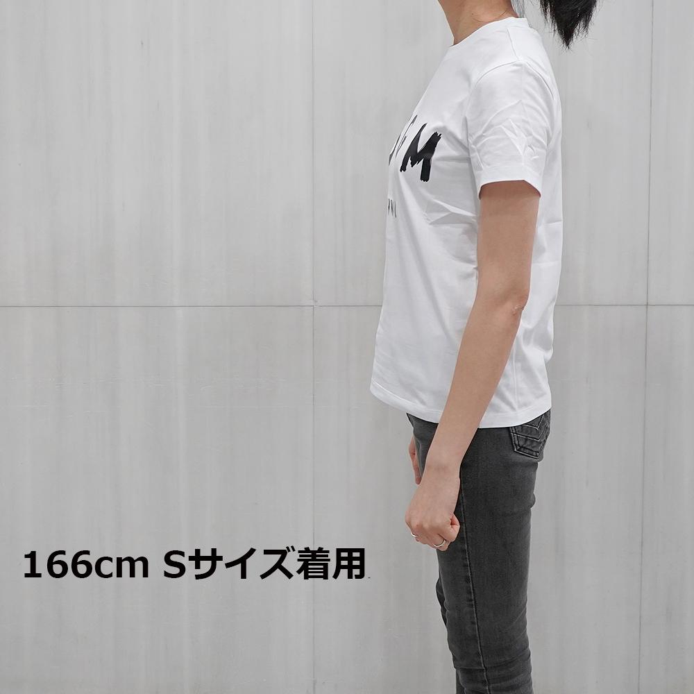 MSGM Tシャツ レディース エムエスジーエム 半袖 ブラシストロークロゴ Tシャツ REGULAR T-SHIRT WITH BRUSHSTROKE MSGM LOGO (全5色)【2441MDM60 184299】【2741MDM60 195797】