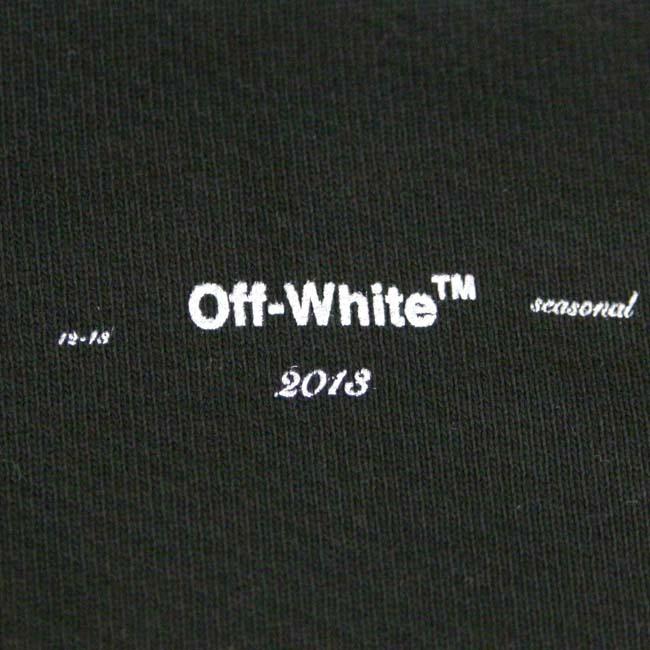 OFF-WHITE パーカー  オフホワイト メンズ フーディー スウェット長袖