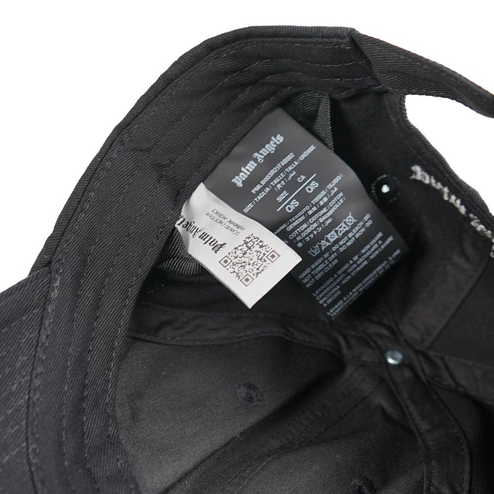 パームエンジェルス PALM ANGELS CAP CLASSIC LOGO 帽子(1001 / BLACK) 【PMLB003R21FAB002】