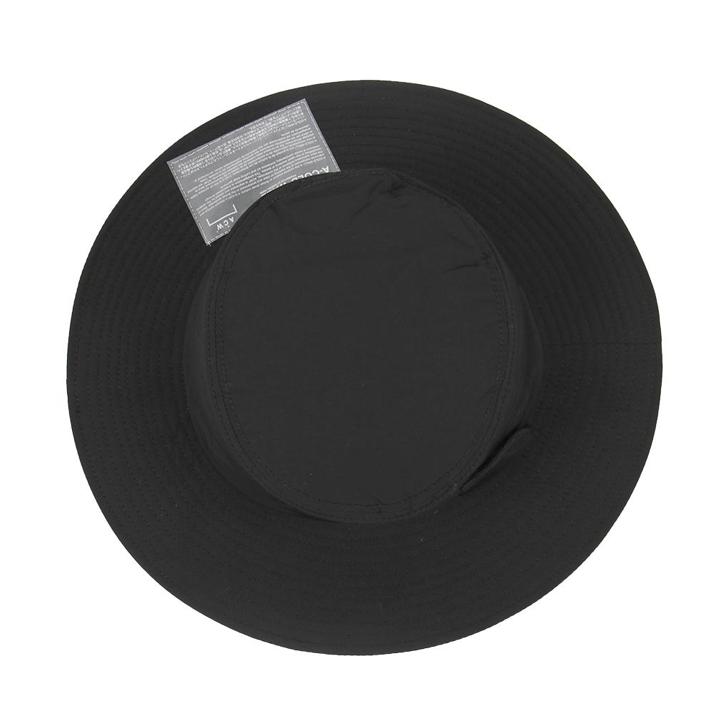A COLD WALL ア コールド ウォール SNAP POCKET BUCKET HAT ブラック スナップ フラップ バケット ハット バケハ(BLACK) 【ACWUA008WHL】