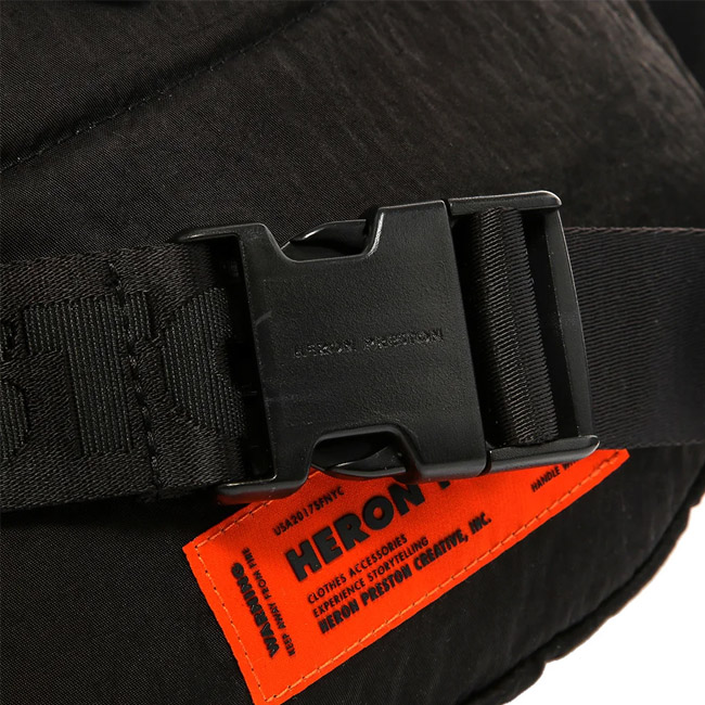 HERON PRESTON バッグ ヘロンプレストン ボディバッグ ウエストバッグ FANNY PACK DOTS CTNMB BLACK MULICOLOR (全2色) 【HMNA001F19816004】