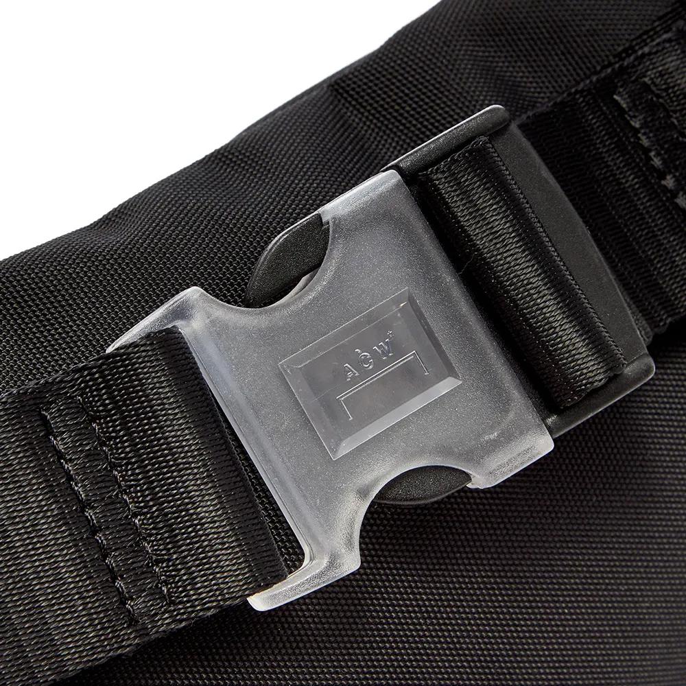 A COLD WALL ア コールド ウォール ボディバッグ ACW logo patch belt bag MISSION STATEMENT WAISTBAG チェストバッグ ホルスターバッグ(BLACK) 【ACWUG001WHL】