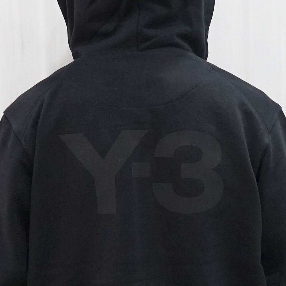 Y-3 ワイスリー ジップアップ パーカー(BLACK) Y-3 M CLASSIC BACK LOGO FULL-ZIP HOODIE【FN3363】