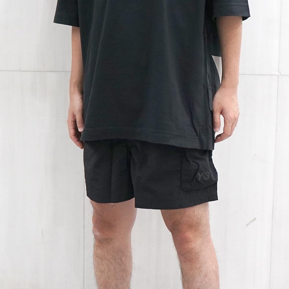 Y-3 ワイスリー メンズ スイムパンツ (BLACK) Utility Swim Shorts【GT5256】