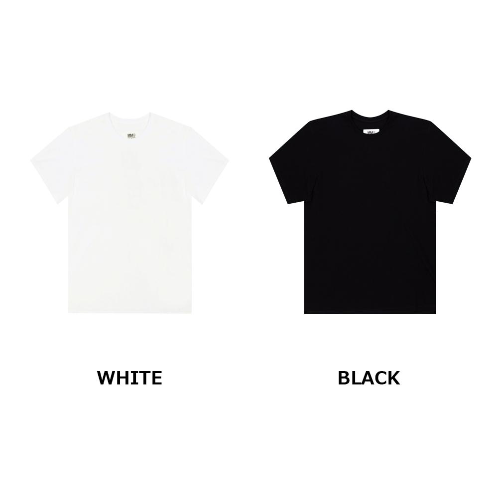 MM6 メゾンマルジェラ Tシャツ MAISON MARGIELA エムエムシックス メゾンマルジェラ 半袖 Tシャツ MM6 MAISON MARGIELA レディース LOGO PRINT T (全2色) 【S52GC0180-S23588】
