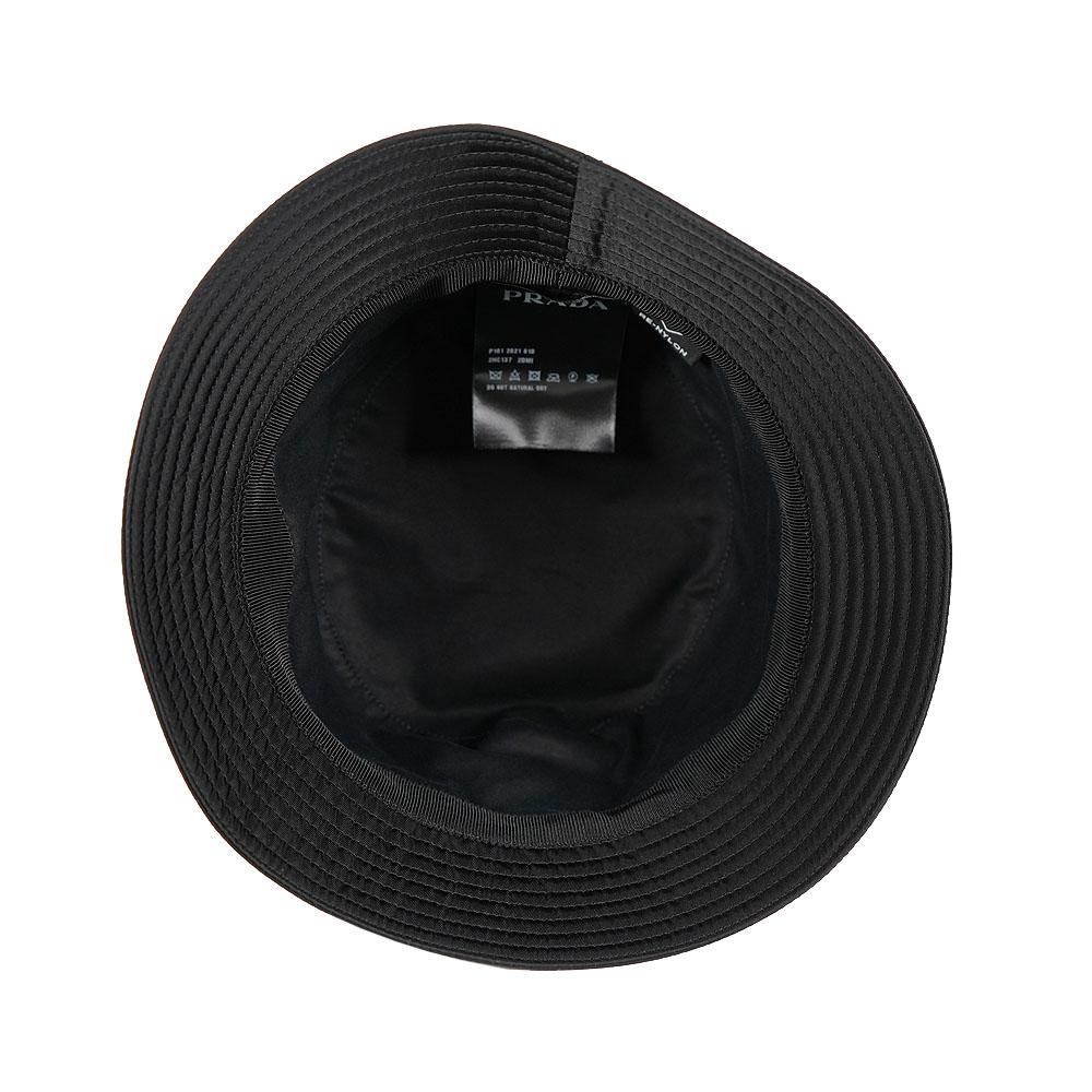 PRADA バケットハット プラダ 帽子 バケツハット PRADA HAT BUCKET TESSUTO (NERO) 【2HC137 2DMI】