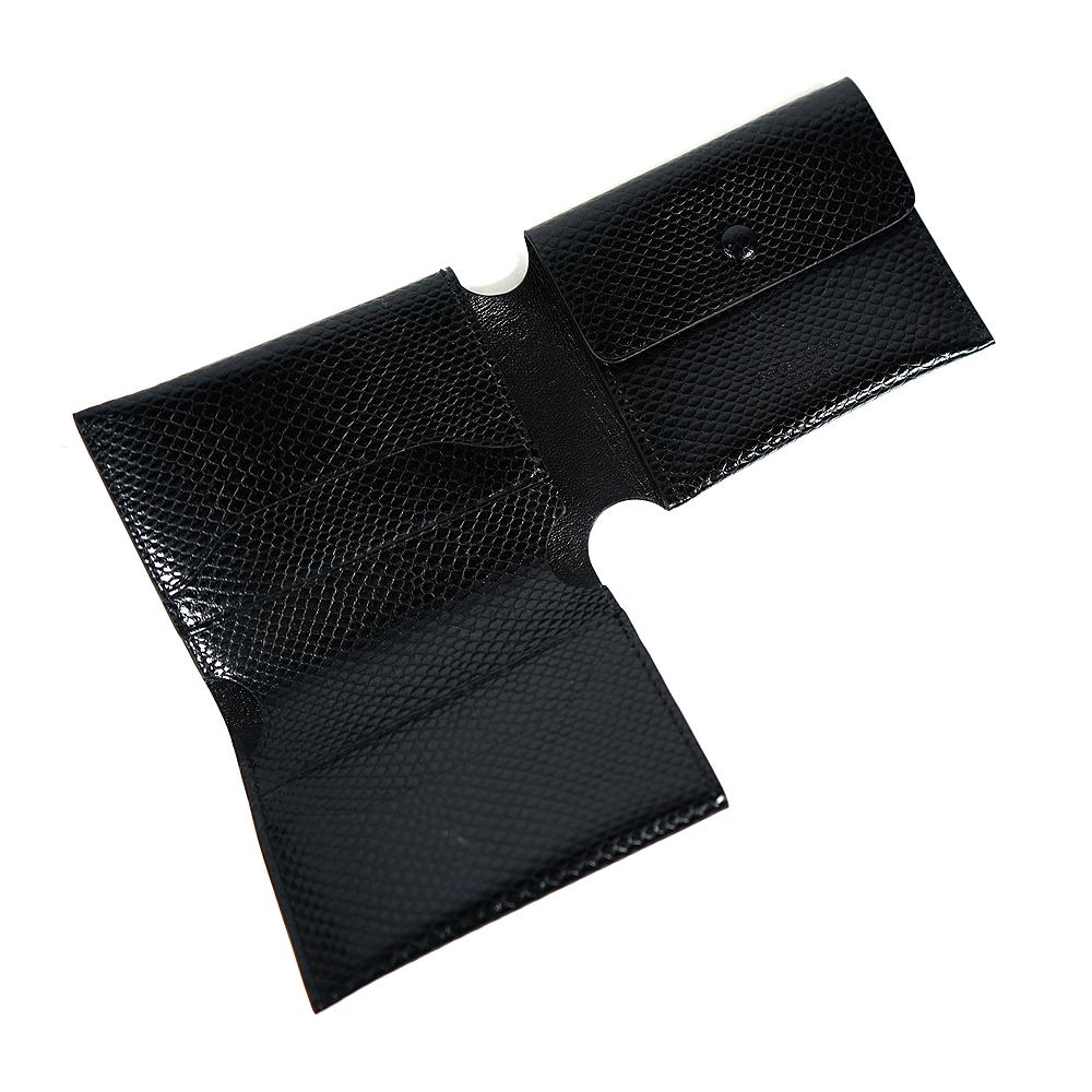 アクネストゥディオズ 財布 ユニセックス 男女兼用 Acne Studios 三つ折り財布 Trifold card wallet トリフォールド カード ウォレット (BLACK)【CG0136/FN-UX-SLGS000148】