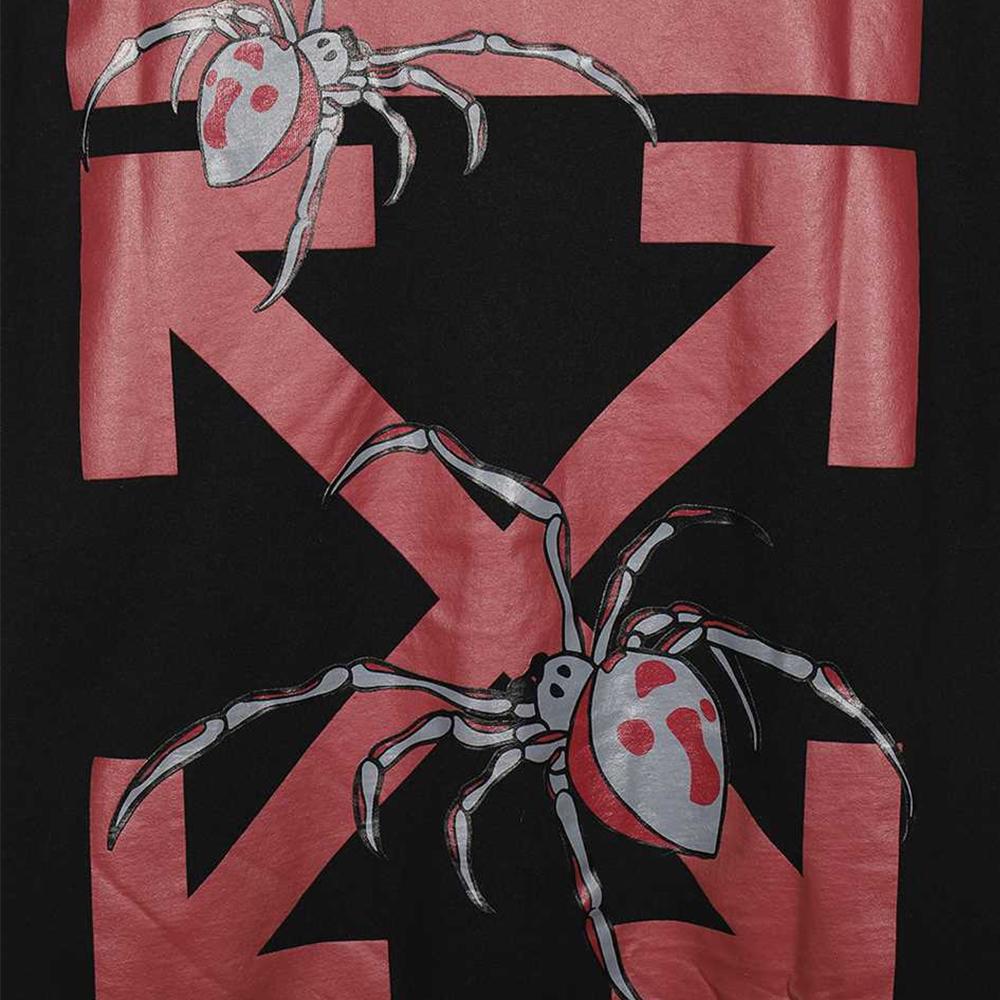 OFF-WHITE Tシャツ オフホワイト メンズ 半袖 アラクノ アロー スパイダー ARACHNO ARROW S/S OVER TEE(全2色) 【OMAA038S20185001】