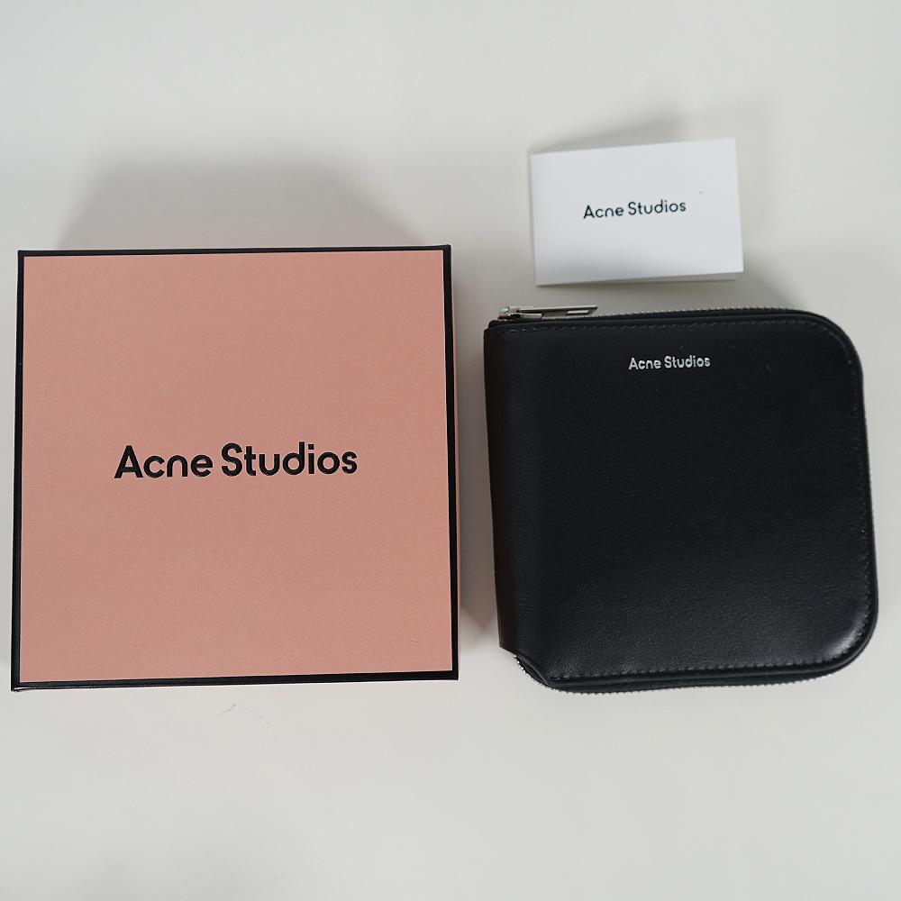 アクネストゥディオズ 財布 Acne Studios 二つ折り財布 コンパクト財布 アクネ (全3色)【CG0106/FN-UX-SLGS000115】