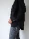【1月7日12:00〜通常販売】ストレッチボリュームスリーブTops ブラック
