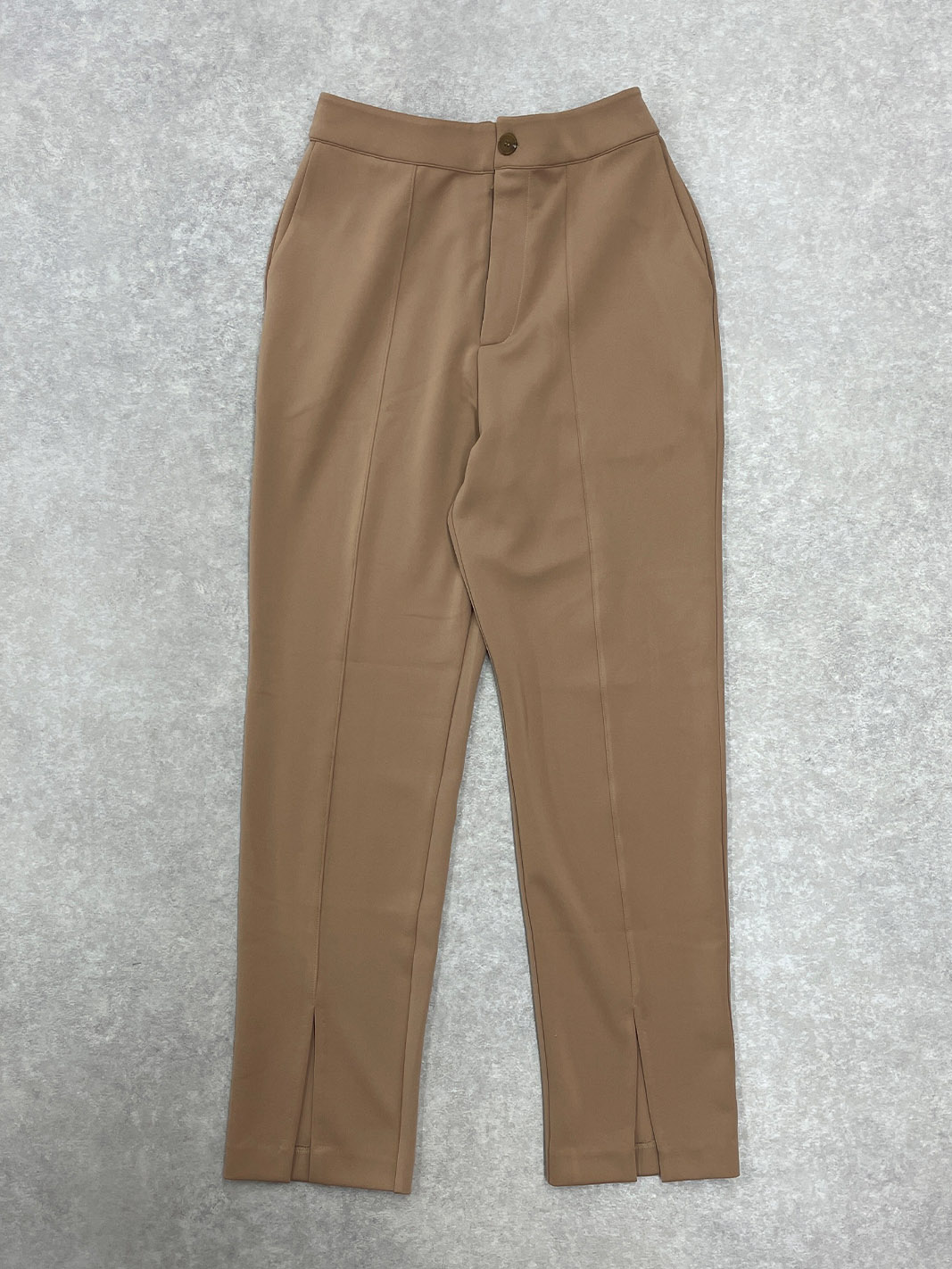 【SOLD OUT】スリットAdjustable Pants キャメル