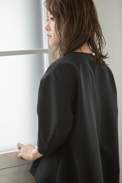 【VERY10月号掲載商品】Wクロスセットアップ ブラック