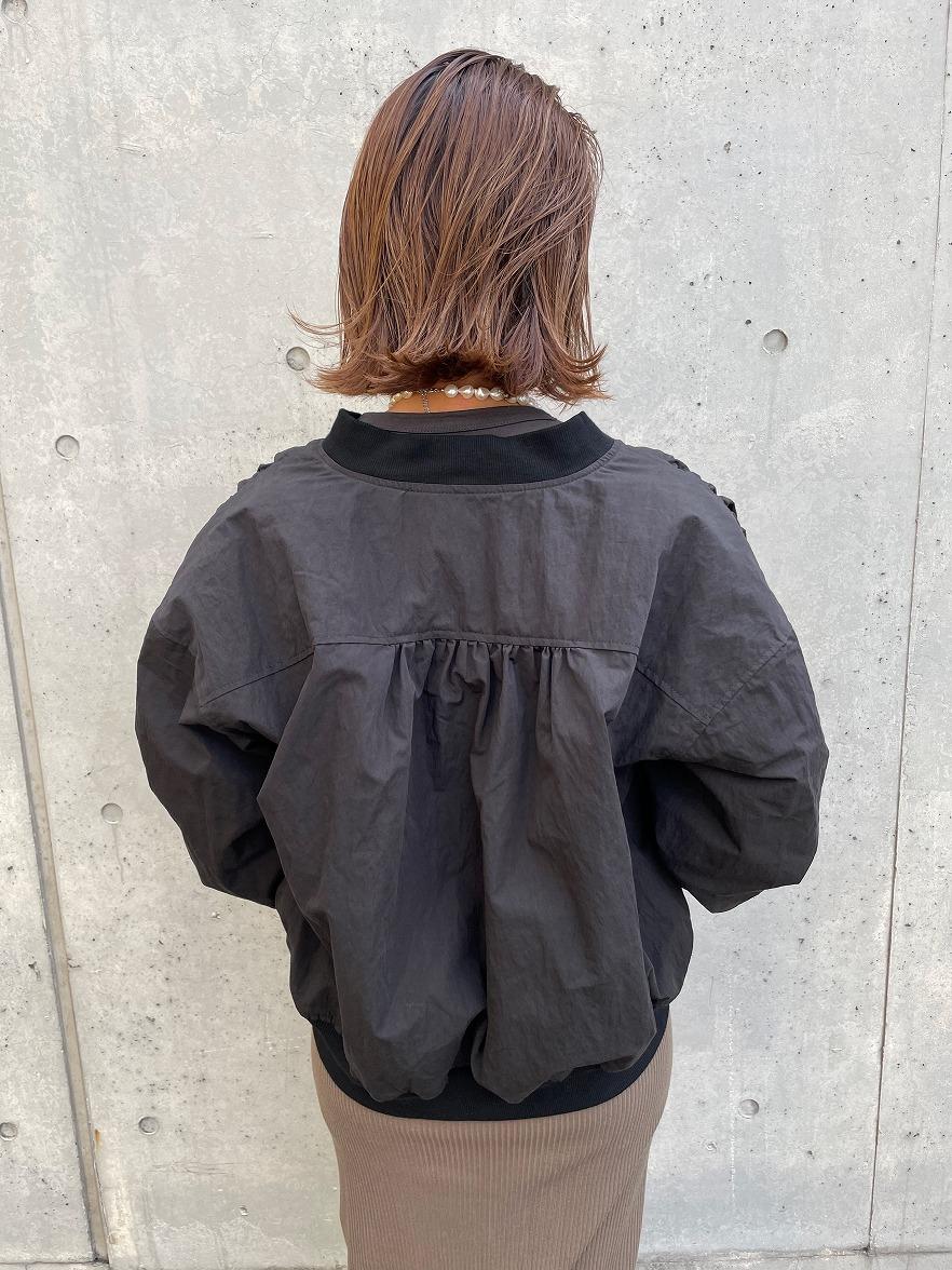 【10/6(水)19時〜】C/N MA-1ブルゾン ブラック