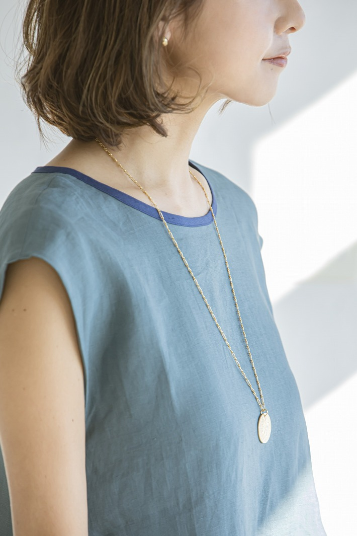 【SOLD OUT】SSコインロングネックレス