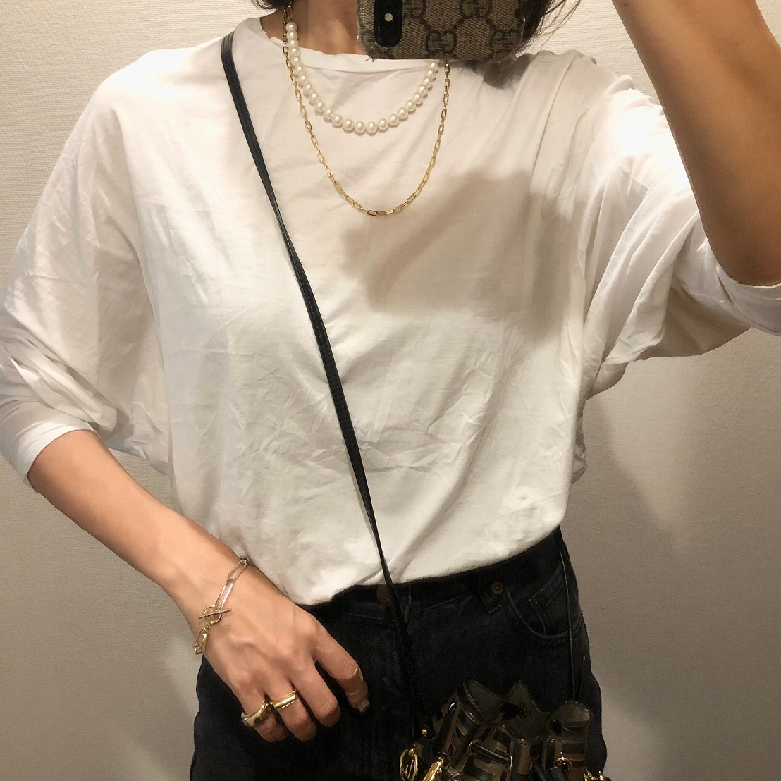 【SOLD OUT】Bicolorチェーンブレスレット