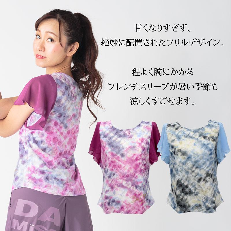 ひらり袖フレアTシャツ DAMISS