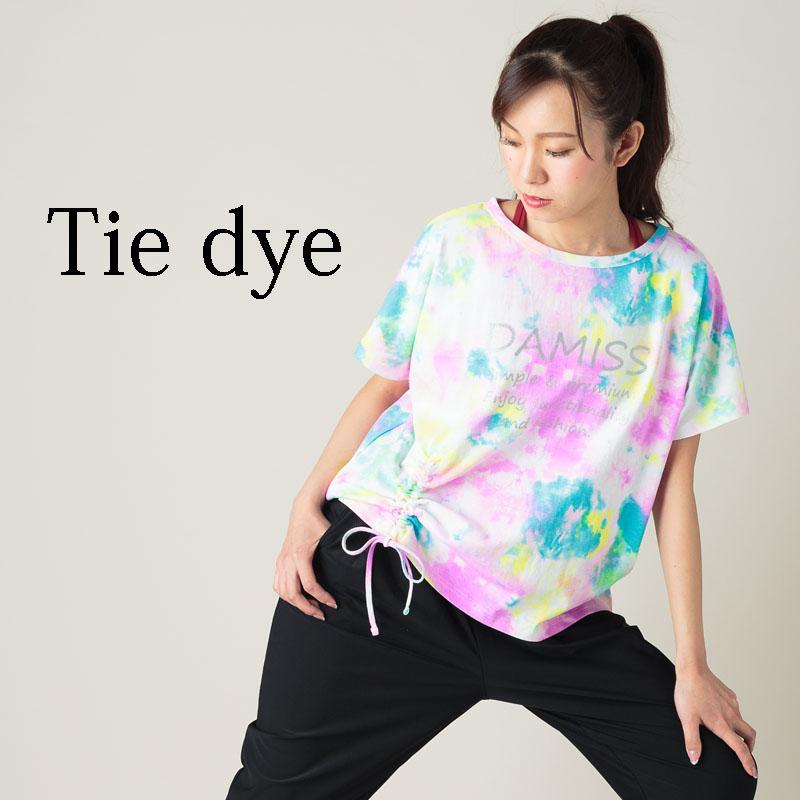 タイダイオーバーTシャツ DAMISS