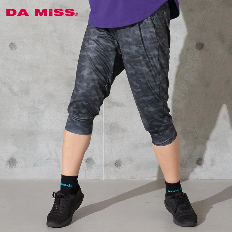 DAMISS フィットネスウェア レギンス 迷彩ソフトジョッパーズ DAMISS 【ダミス】 レディース ヨガ ダンス ウェア 9114-0638