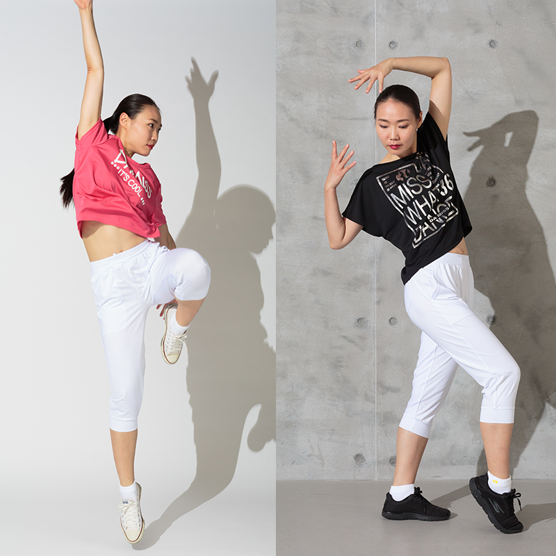 DAMISS フィットネスウェア カプリパンツ DAMISS 【ダミス】 レディース ヨガ ダンス ウェア 9114-0648