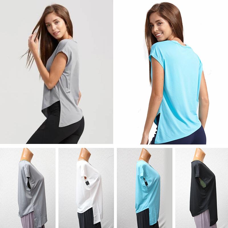 DEFINE フィットネスウェア メッシュスポーツ Tシャツ 半袖ヨガは 吸汗速乾 ランニングシャツ 3914-0501