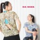DAMISS フィットネスウェア 花柄Tシャツ DAMISS 【ダミス】 レディース ヨガ ダンス ウェア 1014-0103