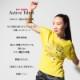 DAMISS フィットネスウェア 【吸水速乾】 グリッターロゴTシャツ DAMISS 【ダミス】 レディース ヨガ ダンス ウェア1014-0308