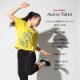 DAMISS フィットネスウェア 【吸水速乾】 グリッターフロントロゴTシャツ DAMISS 【ダミス】 レディース ヨガ ダンス ウェア1014-0303
