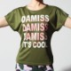 DAMISS フィットネスウェア 【吸水速乾】 ロゴハートTシャツ DAMISS 【ダミス】 レディース ヨガ ダンス ウェア1014-0306