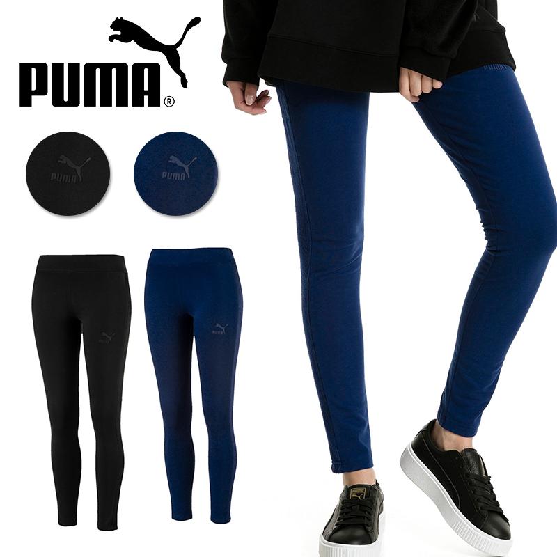 PUMA プーマ  フィットネスウェア レギンス ARCHIVE ウィンタライズド T7 レギンス 574912 タイツ プーマ レギンス