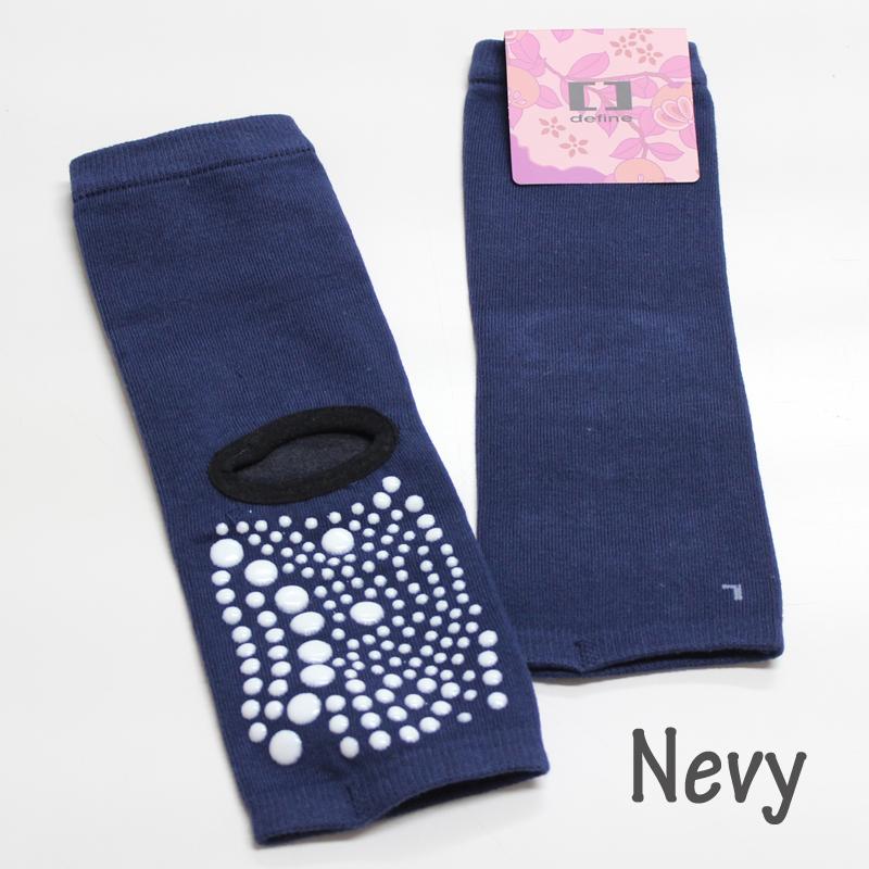 defin ヨガソックス yoga socks 靴下 足袋 5本指 冷え症 滑り止め  DAMISS ダミス 3018-0503