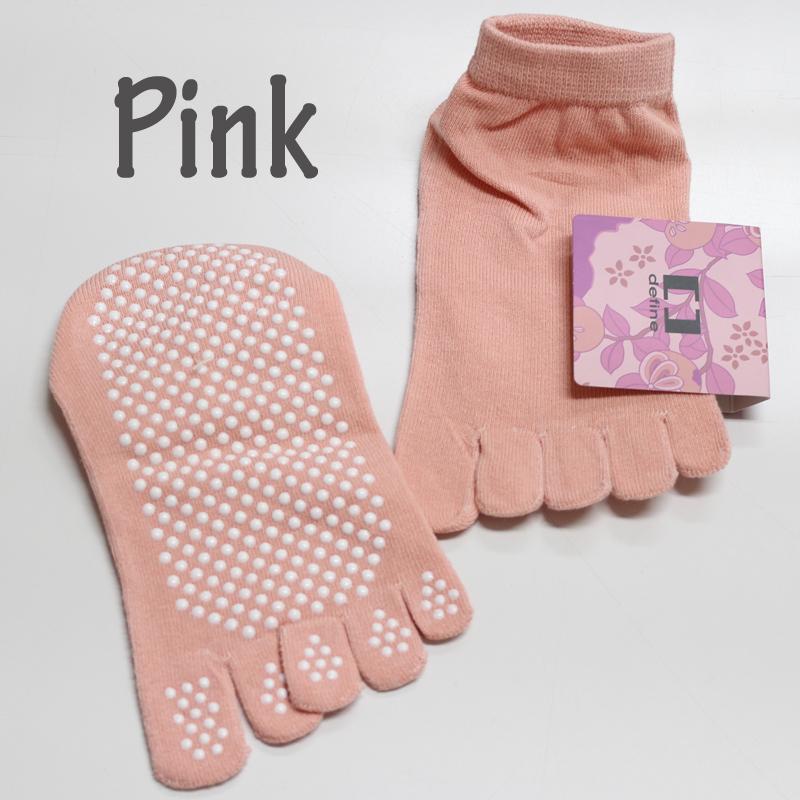 defin ヨガソックス yoga socks 靴下 足袋 5本指 冷え症 滑り止め  DAMISS ダミス 3018-0505