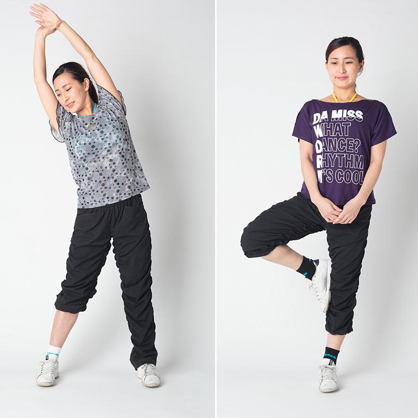 DAMiSS 【ダミス】 フィットネスウェア キックパンツ Kパンツ ロング レディース ダンス ウォーキング 9112-1047