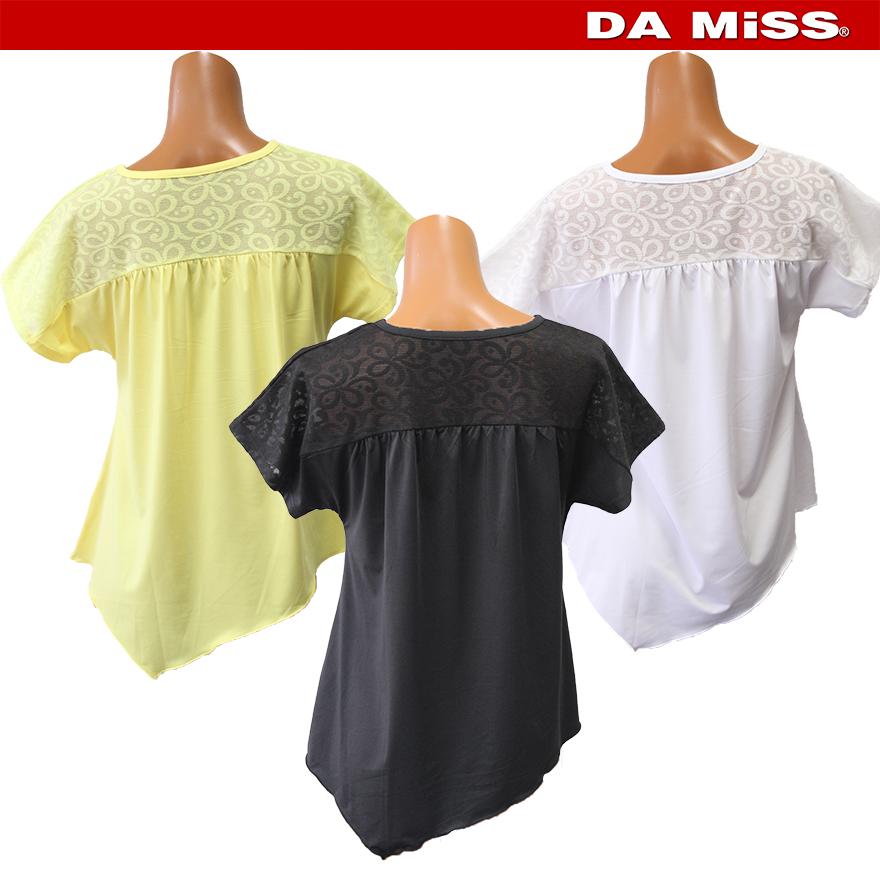 DAMISS フィットネスウェア Tシャツ DAMISS 【ダミス】 レディース ヨガ ダンス ウェア 9313-0143