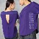 DAMISS フィットネスウェア Tシャツ DAMISS 【ダミス】 レディース ヨガ ダンス ウェア 9313-0163