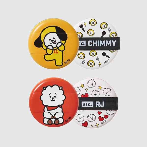 【BT21】メイクアップパフキット