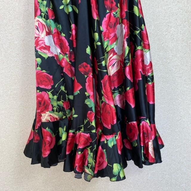 1点 フラメンコダンス衣装 スカート