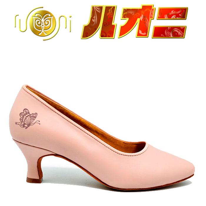 ルオニ アートシューズ  女性モダンシューズ  H11-FM1101-A1 【セミオーダー】