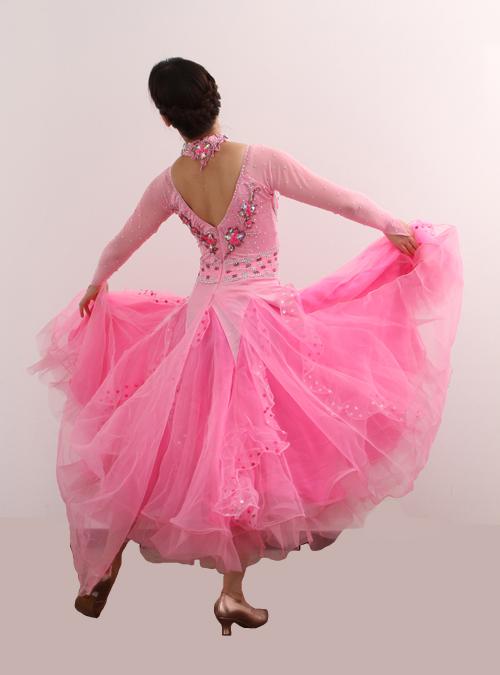 ダンスドレス モダン WQ-MD2-1pk/ピンク