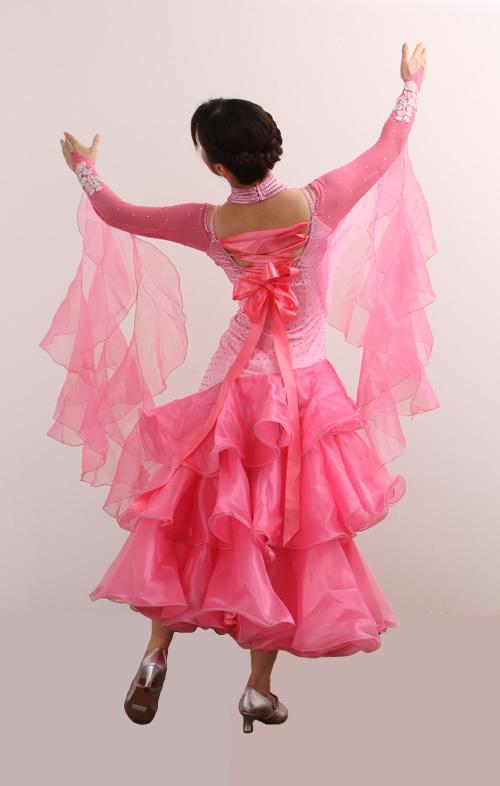 ダンスドレス モダン WQ-MD8-1pk/ピンク