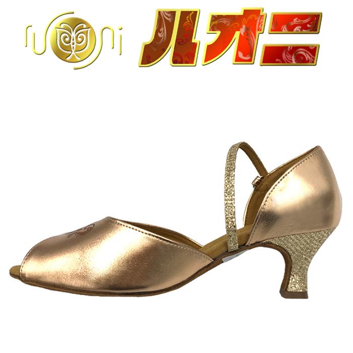 ルオニ ダンスシューズ  女性ラテン・兼用シューズFP01MPG1-A 【セミオーダー】