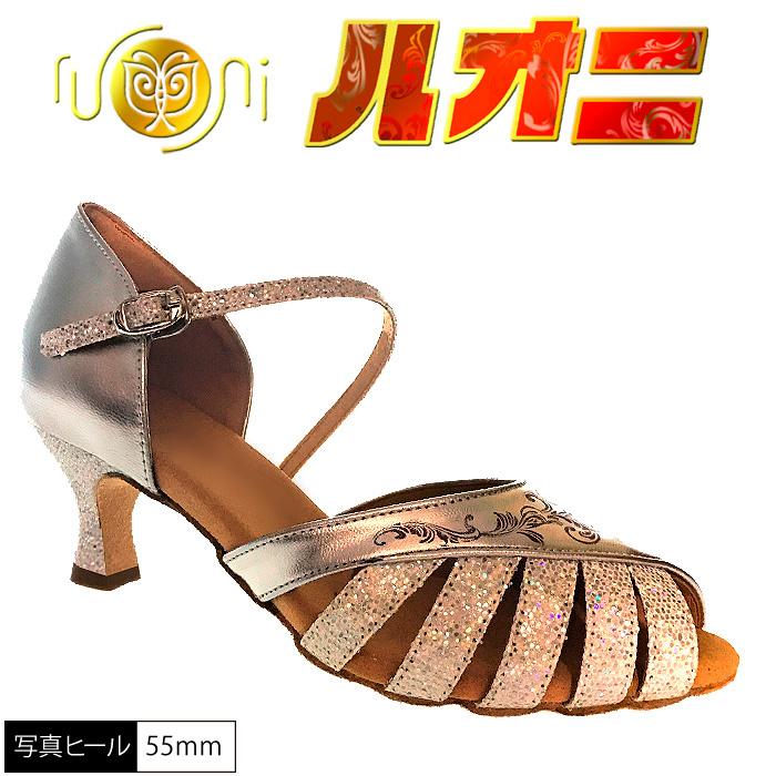 ルオニ ダンスシューズ  女性兼用シューズ FP01SLG2-A   【セミオーダー】