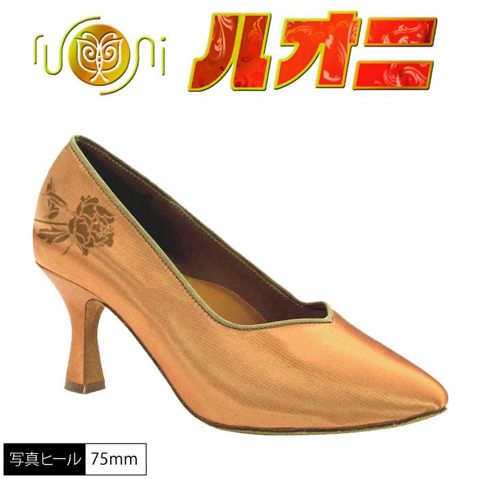 ルオニ アートシューズ  女性モダンシューズ  FM1065-A 【セミオーダー】