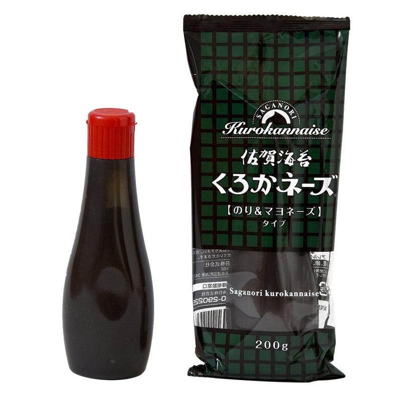 佐賀海苔くろかネーズ 200g