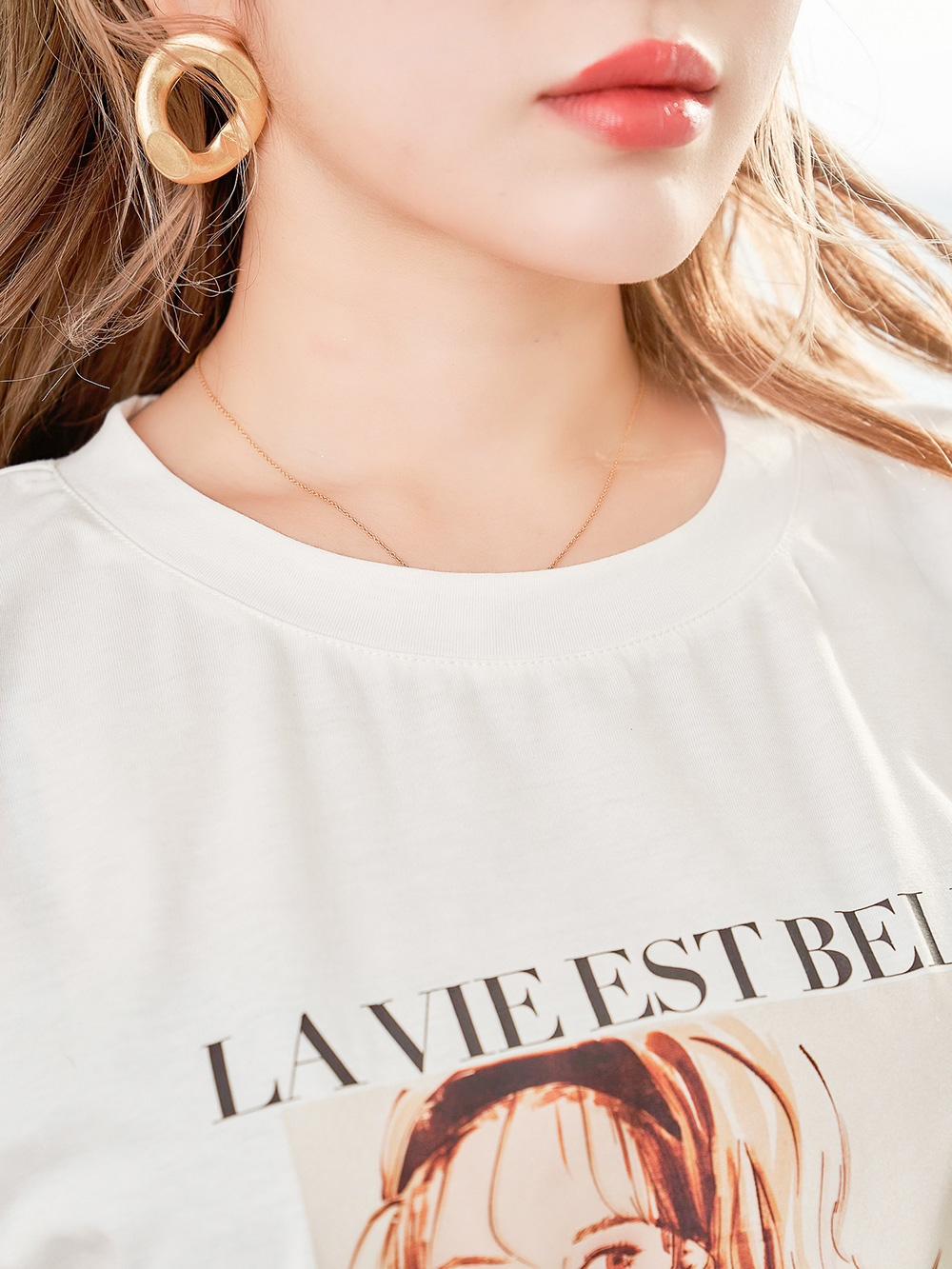 レディグラフィックTシャツ
