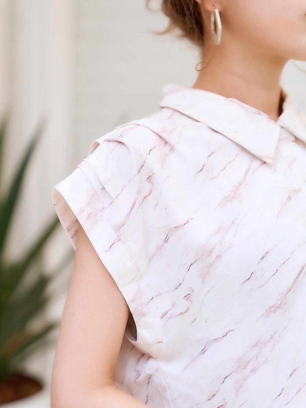 ヌーディマーブルシャツ